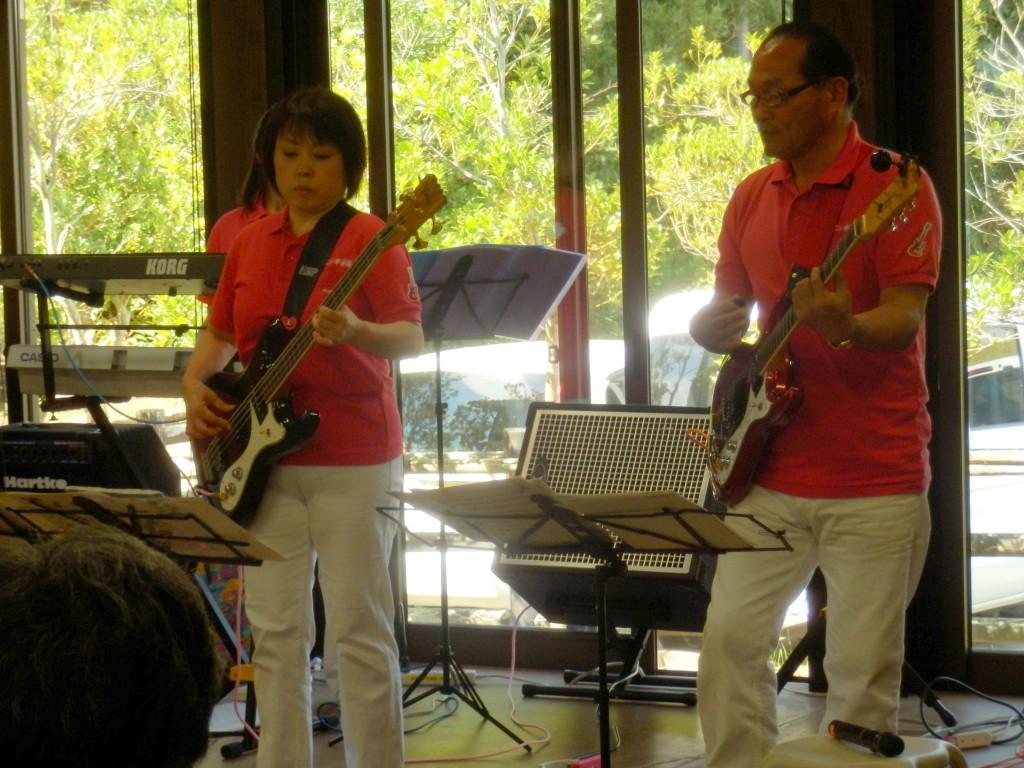 熱帯エレキ楽団@菱風荘ミニコンサート・福島潟自然文化祭2014(9/23)